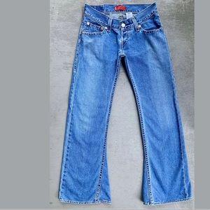 Rare VTG 90's Levi's Type 1  Slouch Bell—Jeans